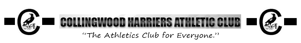 Collingwood Harriers Athletics Club Logo